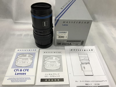 HASSELBLAD/哈苏 CFE 250/5.6 Sa 镜头附带原厂包装