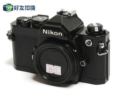 尼康/Nikon FM 135胶卷单反机身 黑色
