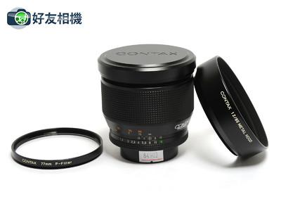 康泰时/Contax Planar 85mm F/1.2 MMG镜头 60週年版 *超美品*