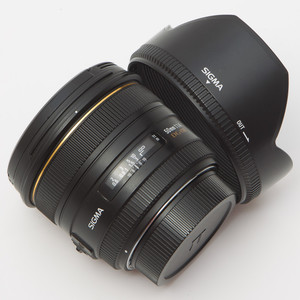 Sigma适马 50mm/F1.4 EX DG HSM 佳能口 90新 NO:0445