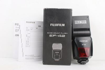 95新二手Fujifilm富士 EF-42 闪光灯 适合X-T2微单相机 301981京