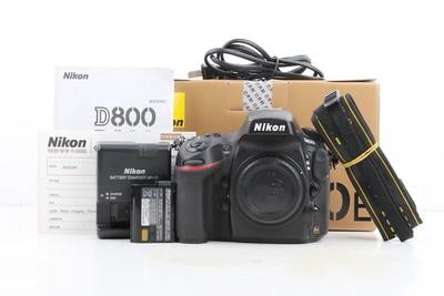 90新二手Nikon尼康 D800E 单机 快门24722次 回收002246京