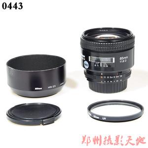 尼康 AF 85mm f/1.8D 单反镜头 0443
