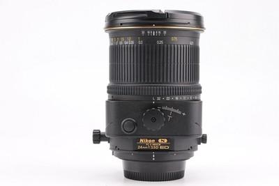 96新二手 Nikon尼康 24/3.5 D ED PC-E 移轴镜头回收 209831京