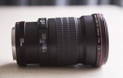 佳能 EF 200mm f/2.8L II USM 228L 长焦镜头