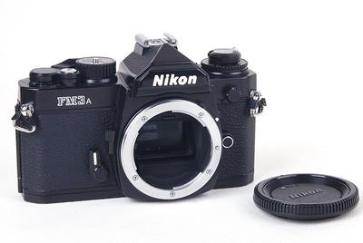 【美品】Nikon/尼康 FM3A 黑色机身#jp20280