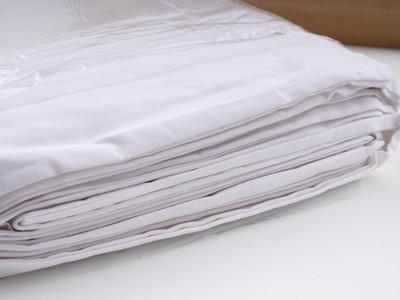底价出品牌全新3米x6米的白棉布,净重2.4公斤,白棉布背景