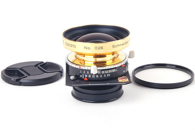 施耐德 Symmar-S 210/5.6 限量版镀金#jp20279