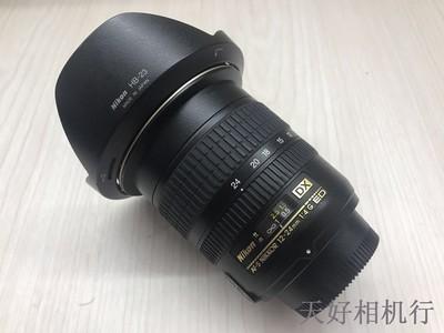 《天津天好》相机行 99新 尼康DX 12-24/4G 镜头