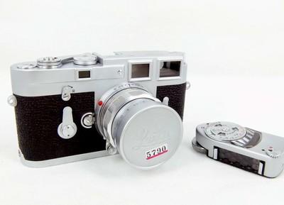 华瑞摄影器材-包装齐全的徕卡Leica M3带50/2 rigid 加测光表