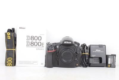 88新二手Nikon尼康 D800 单机 快门42198次 回收035779京