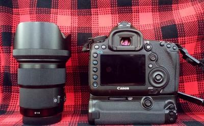 佳能 5D Mark III +适马 50 1.4 Art 极品人像镜头 国行带保
