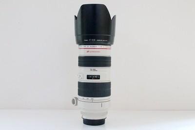 93新二手Canon佳能 70-200/2.8 L 小白变焦镜头 回收138575成