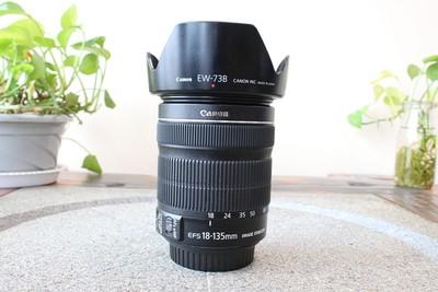 95新二手 Canon佳能 18-135/3.5-5.6 IS STM变焦镜头回收004806京