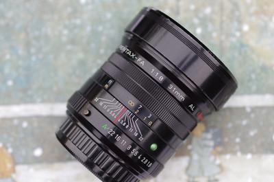 宾得 FA 31mm f/1.8 AL Limited【小公主】