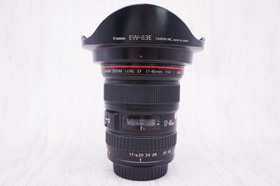 97新 佳能 EF 17-40mm f/4L USM 单反镜头 17-40/4 2551