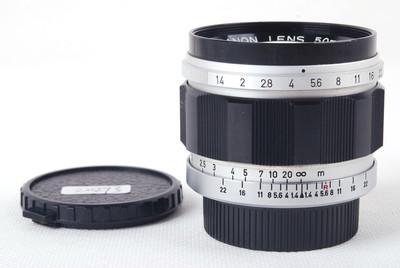 特价 佳能 50/1.4 LTM L39 徕卡螺口镜头 #jp20293