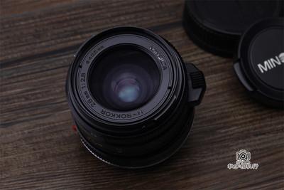 美能达28/2.8 Minolta M-ROKKOR 28mm F2.8 徕卡M口旁轴广角镜头