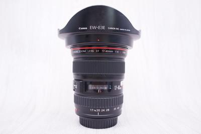 97新 佳能 EF 17-40mm f/4L USM 单反镜头 17-40/4 2553