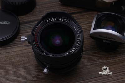 福伦达 ULTRA WIDE-HELIAR 12mm F5.6 ASPH 一代L39口全套带包装