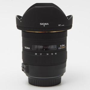 Sigma适马10-20/3.5 EX DC HSM 超广角镜头旧涂层佳能口98新#6868