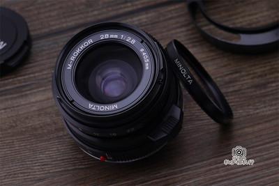 美能达 Minolta M-ROKKOR 28mm F2.8 徕卡M口旁轴广角镜头 全套