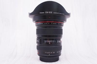 97新 佳能 EF 17-40mm f/4L USM 单反镜头 17-40/4 2554