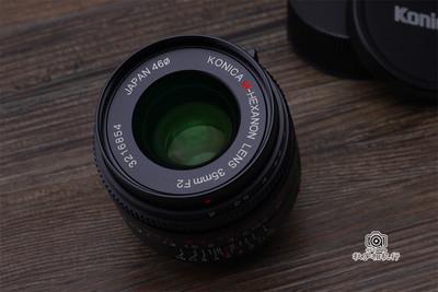 柯尼卡 35/2 KONICA M-HEXANON 35mm F2 徕卡M口人文定焦镜头