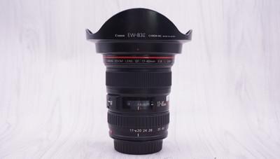 98新 佳能 EF 17-40mm f/4L USM 单反镜头 17-40/4 2503