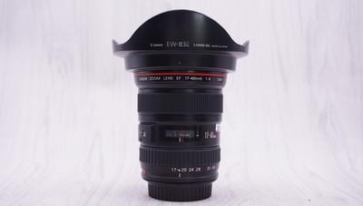 98新 佳能 EF 17-40mm f/4L USM 单反镜头 17-40/4 2504