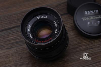 福伦达 VOIGTLANDER ULTRON 35mm F1.7 ASPH 徕卡L39口 黑色