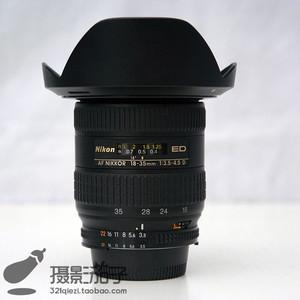 98新尼康 AF 18-35mm f/3.5-4.5D银广角#0441 [支持高价回收置换]