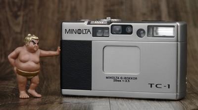 美能达 Minolta TC-1 TC1 超后期编号 成色不错