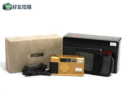 康泰时/Contax T2 傻瓜相机 金色版 带Sonnar 38mm镜头 *超美品*