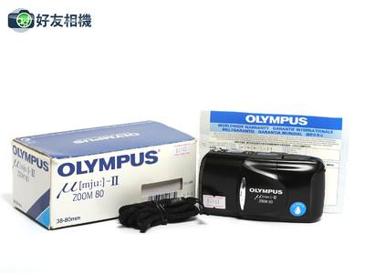 奥林巴斯 mju-II Zoom傻瓜相机 带变焦38-80mm镜头 *美品连盒*