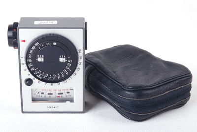 【美品】Sekonic世光L-206测光表View meter带皮套jp20253