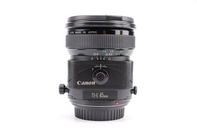 90新二手Canon佳能 45/2.8 TS-E 移轴镜头上门回收 12171津