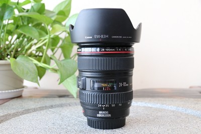 95新二手Canon佳能 24-105/4 L IS USM 防抖镜头 回收157084武