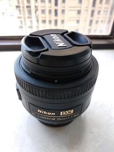 国行尼康 AF-S DX 尼克尔 35mm f/1.8G 送肯高多膜UV