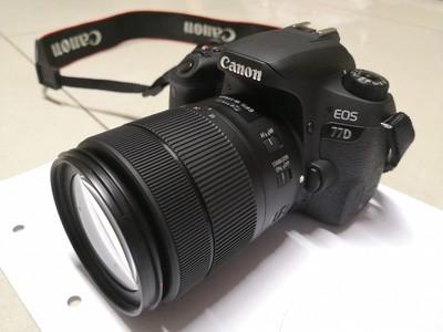 佳能EOS 77D、 佳能18-135mm USM镜头、佳能小痰盂50mm/1.8镜头