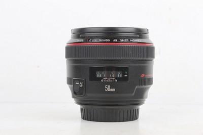 95新二手 Canon佳能 50/1.2 L USM 定焦镜头置换 917335京