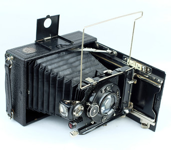 HANNOVER 9X12 折叠相机Meyer Gorlitz 无镀膜镜头
