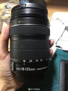 自用佳能 EF-S 18-135mm f/3.5-5.6 IS STM镜头