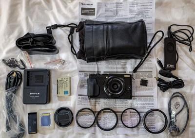 富士 X70  复古相机
