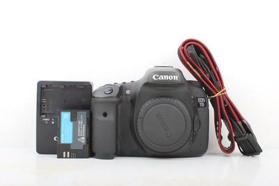 93新二手 Canon佳能 7D 单机 中端单反相机 回收 808877京