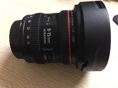 佳能EF 8-15mm 1:4L USM 鱼眼镜头