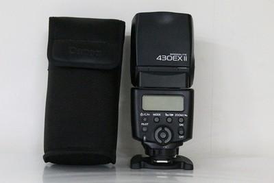 97新二手 Canon佳能 430EX II 闪光灯 二代 回收 D64141成