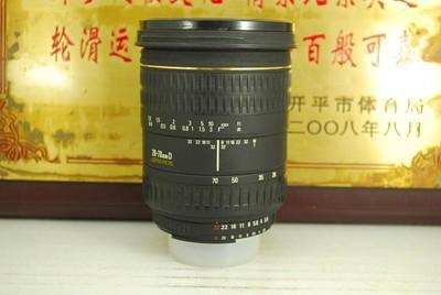 尼康口 适马 28-70 F2.8 EX 单反镜头 全画幅恒圈挂机 性价比高