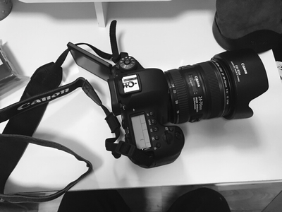 EOS 6D Mark II搭配24-70镜头