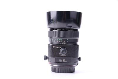 85新二手 Canon佳能 90/2.8 TS-E 移轴镜头 高价回收 20565津